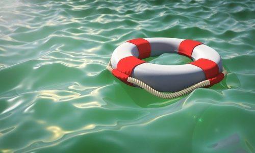 Wij vallen buiten de reddingsboot